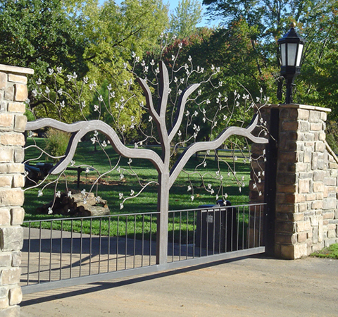 Our Beautifully Designed Custom Iron Gates Are True Works Of Art
