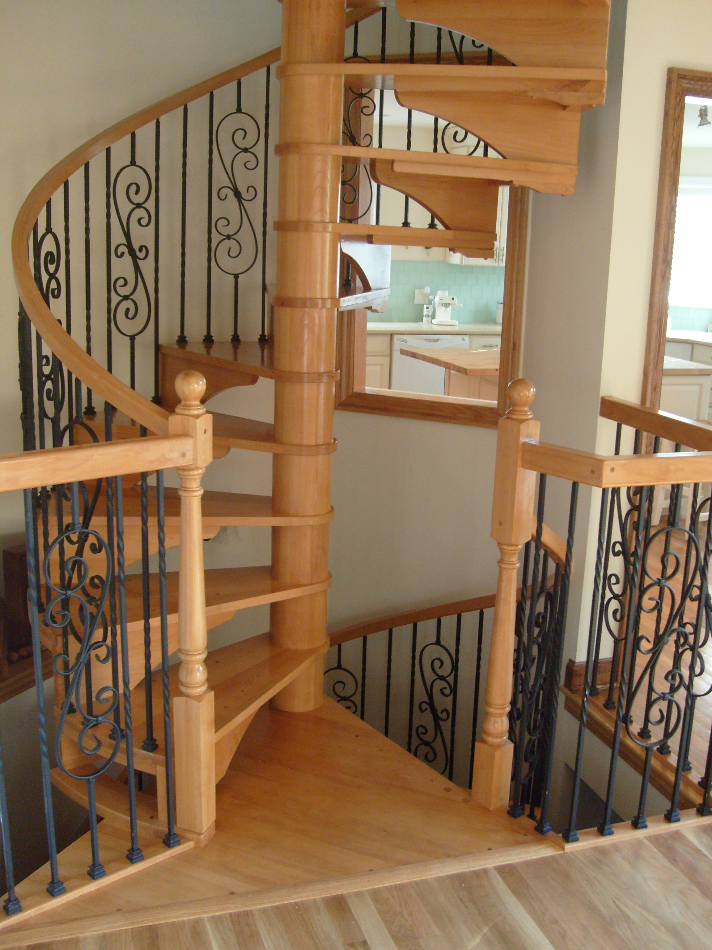 Or Curved Staircase Railings. We Have Had Clients Request Solid Railings  And Hollow Railings, Wrought Iron, Forged Iron, Just About Anything Can Be  Made, ...