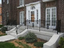 wrought iron railing 021