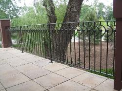 wrought iron railing 024