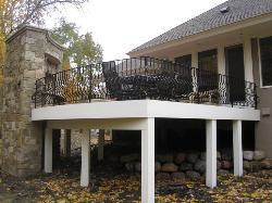 wrought iron railing 027