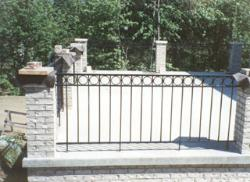 wrought iron railing 013